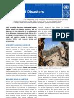 7Disaster Risk Reduction - Gender