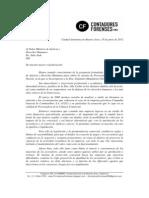 Apoyo a la postulación de Alejandra Gils Carbó para el cargo de PGN