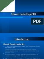 Maruti -Auto Expo Ppt