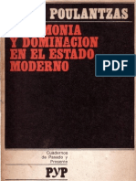 Nicos Poulantzas - Hegemonia y Dominacion en El Estado Moderno