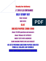 CLAT SAMPLE PAPERS Clat Coaching Materials Clat Question Paper From www.lawexams.in