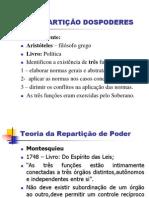 DA REPARTIÇÃO DOSPODERES - CONST. II