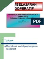 Copy of Pembelajaran Kooperatif