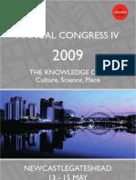 Congress 2009 - The Academy of Urbanism