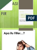 PPT Aplikasi Filter FIR
