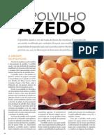 Polvilho Doce e Azedo