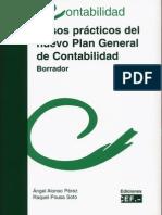 Casos prácticos del nuevo plan de Contabilidad - Borrador 2008 - CEF - (libro escaneado)