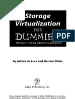 Storage Virtualization for Dummies
