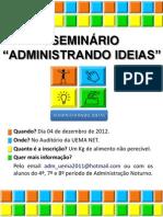 Cartaz a4 Adm Ideias