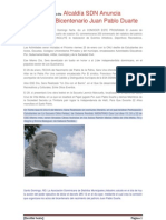 Bicentenario de Juan Pablo Duarte