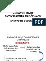 ENSAYOS BAJO CONDICIONES DINÁMICAS