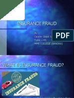 Insurance Fraud PPT (Final)