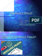 Insurance Fraud PPT (Final)