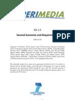 D2.1.5 Second Scenarios and Requirements v1.0