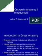 Anatomy 1 Introduction