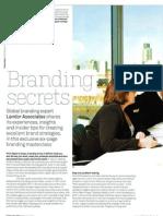 Branding Secrets and Strategies