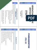 Curso de ITIL -  Prof. Otávio Frota