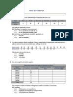 Ficha Diagnóstica - Mat 10º