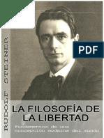 12694136 Rudolf Steiner La Filosofia de La Libertad