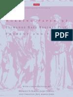 Bordo Exchange Rate Regimes