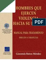 Manual Tratamiento Violencia Genero Hombres