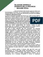 Relazione Prev. e Prog. 2005