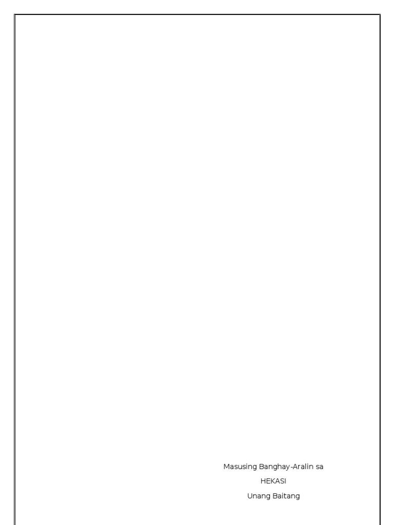 banghay aralin sa filipino 3 unang markahan Mala-masusing banghay aralin sa filipino 4 pang-abay asignatura: sa unang bugtong kailangang masagutan ang 3 activity card na ibibibgay sa inyo.