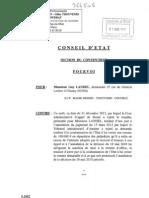 Conseil d'état n° 366506 - Harcèlement moral et Mise à la retraite d'office le 18 mai 2010