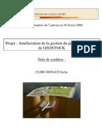 Soutenance de Projet CLERC-RENAUD Sacha