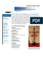 St. Martin's Episcopal Church Newsletter - March 2013