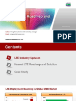 Huawei LTE Roadmap and Solution for Mobitel(20121220)