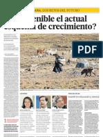 ¿Es sostenible el actual esquema de crecimiento? - Manuel Glave - El Comercio - 100313