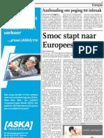 Smoc Stapt Naar Europees Hof
