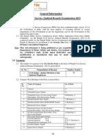 General Indormation PPSC Civil Judge Posts