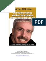 Marcel Béliveau - 52 petites choses qui font la différence dans la vie
