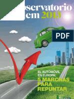 Observatorio 2013 Auto Europeo