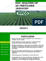Strategic analysis of Indian Fertilizer Industry