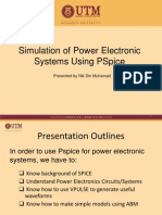 Simulation of Power Electronic Systems Using PSpice