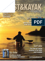 Spring 2013 Coast&Kayak Magazine