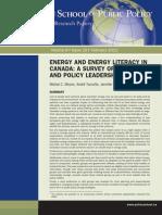 Energy Literacy II Online