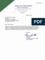 House NASA committee 2014 budget views