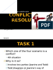 Conflict and Resolution (2)