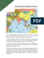 Processos de descolonização na Ásia