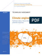 GAO Climate Engineering