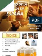 Mercado de la cerveza en España. Economía, 1ºB