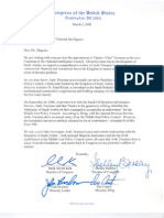Congress of the United States Freeman Letter (Republican Concern)