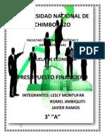 PRESUPUESTO FINANCIERO ESCRITO 1.docx