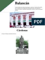 Monumentos Tabasco