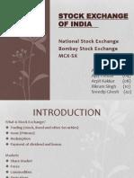 Stock Exchange PPT