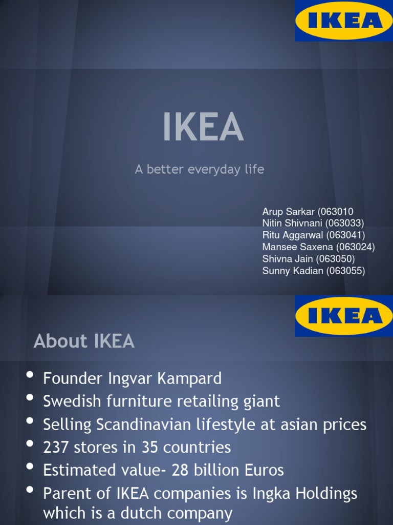 what factors account for the success of ikea 1 what factors account for the success of ikea the major factors that played as part of the success of ikea i think was their willingness to make things presentable and affordable the article mentions that ikea's prices attracted a lot of their customers to buy their products rather than getting a high end product that would cost much more money.